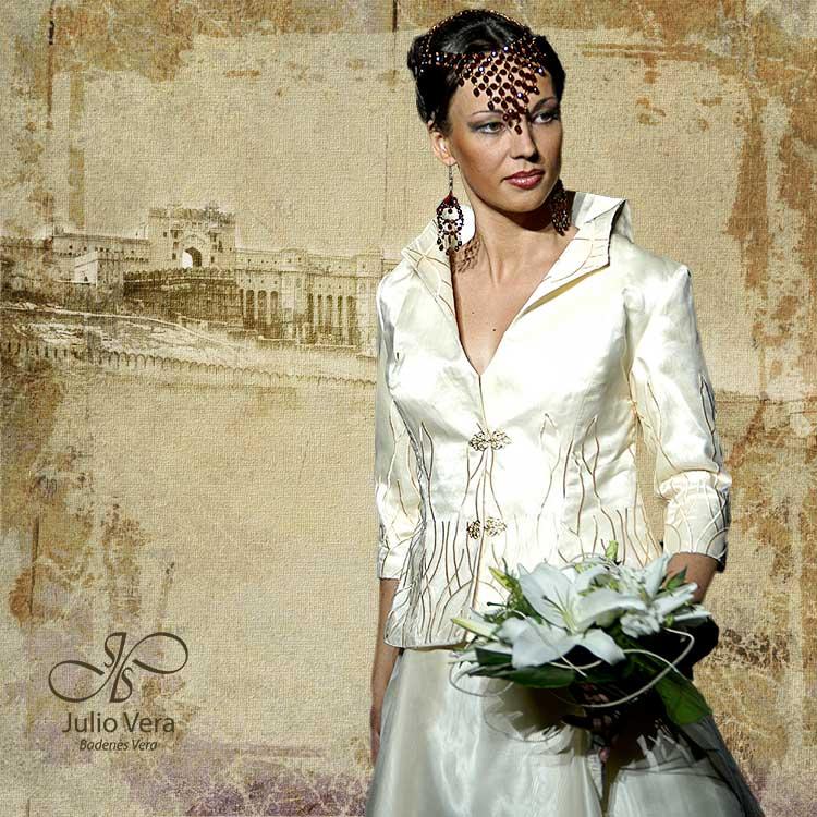 veraatelier - vestido de novia coleccion india 1