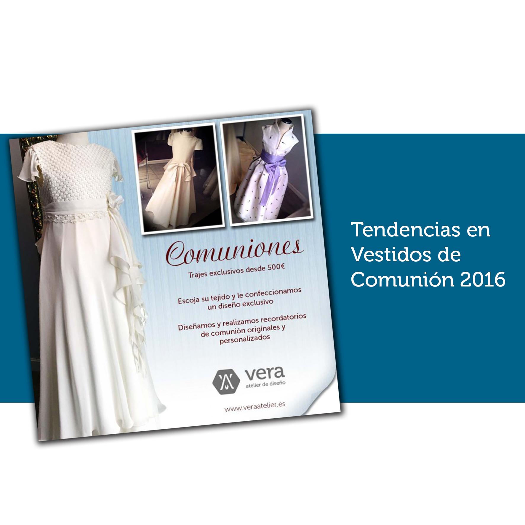 Tendencias en vestidos de comuni n 2016 vera atelier for Tendencias en interiorismo 2016