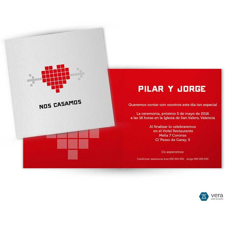 Vera-Atelier-invitaciones-de-boda-corazon-pixelado