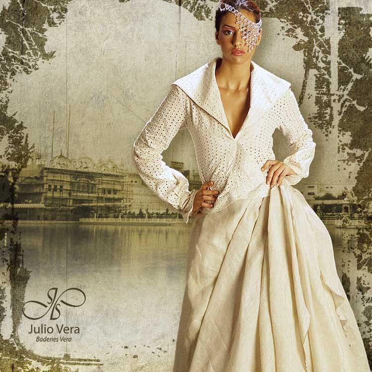veraatelier - vestido de novia coleccion india 2