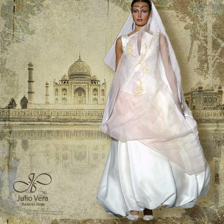 veraatelier - vestido de novia coleccion india 3