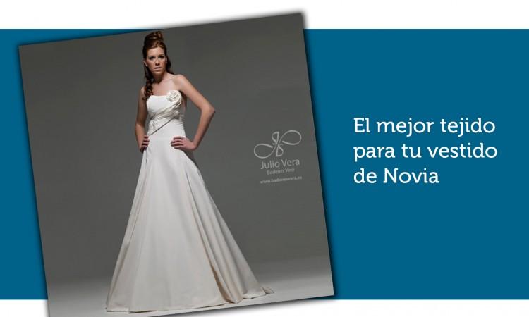 El mejor tejido para tu vestido de Novia
