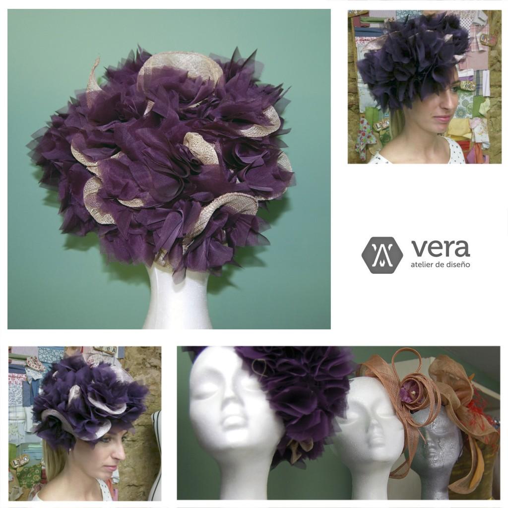 Tocados de fiesta - Vera Atelier  12b989d0142